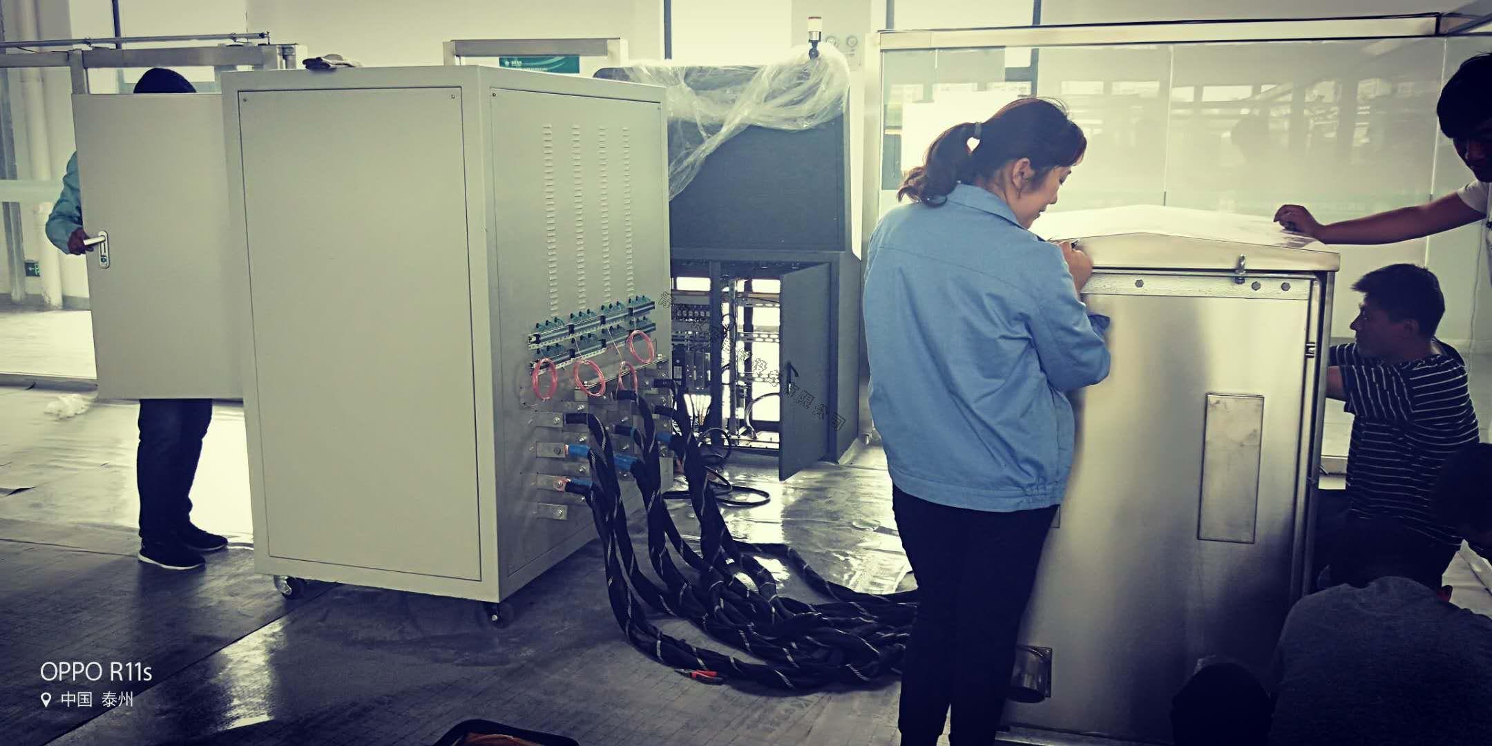 全套低压开关柜温升实验例(JP柜)